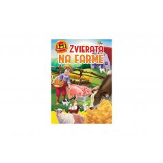 FONI Book Aktivity Zvieratá na farme 101 s nálepkami SK verzia 21x30cm