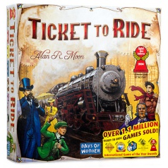 ADC Blackfire hra Ticket to Ride