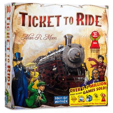 ADC Blackfire hra Ticket to Ride