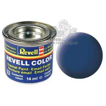 Revell emailová barva 32156 matná modrá
