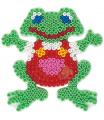 HAMA zažehlovací korálky - MIDI Podložka žába