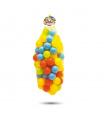 Dolu 100 barevných plastových míčků v síťce - 7cm