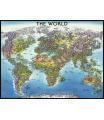 Ravensburger puzzle Mapa světa    2000d