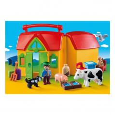 Playmobil Moje první přenosná farma (1.2.3)