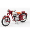 ABREX Jawa 250 Pérák Standard (1948) 1:18 - Tmavě Červená