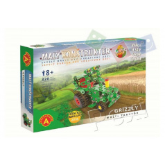 Malý konštruktér Grizzly multi traktor kov 320ks stavebnice v krabici 31x22x5cm