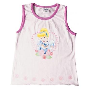 """Licence Only Tričko dívčí bez rukávů """"Princess"""" růžové, vel.10"""