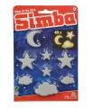 Simba GID Svítící mráčky, měsíc a hvězdy 40 dílů
