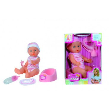 Panenka New Born Baby Darling 30 cm, čůrací, 2 druhy