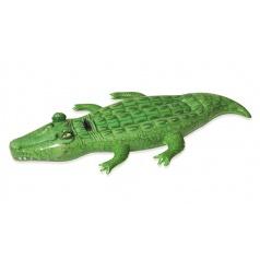 Bestway Nafukovací krokodýl s držadlem, 203x117 cm