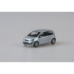 Abrex kovový model auta 1:43 Škoda Citigo3 Doors Silver Brilliant Metallic