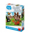 Dino dětské puzzle Krtek: Narozeniny 24D max