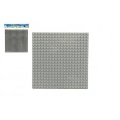 Teddies Podložka základná pre stavebnice Dromader plast 16x16cm v sáčku