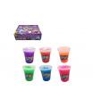 Teddies Sliz - hmota 110g plast 6x7,5cm mix barev