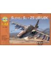 Směr plastový model letadla Suchoj SU-25 UB/UBK v krabici