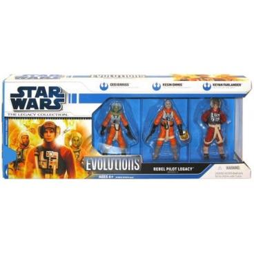 Hasbro Star Wars Evolutions set 3 figurek, assort 2 druhy