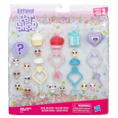 Hasbro Littlest Pet Shop Frosting Frenzy 13ks mini zvířátek