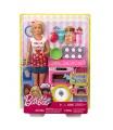 Mattel Barbie VAŘENÍ A PEČENÍ HERNÍ SET S PANENKOU