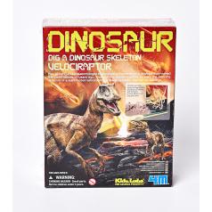 4M Dinosauří kostra - velociraptor