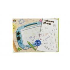 Teddies Magnetická tabuľka kresliace plast v krabici 33x24x3cm