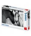Dino puzle Černobílí koně 1000D