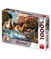 Dino puzle Koně 1000D secret collection