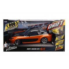 Jada Rychle a zběsile RC auto Drift Mazda RX-7 1:10