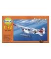 Směr plastikový model letadla ke slepení Piper L-4 plováky 1:72
