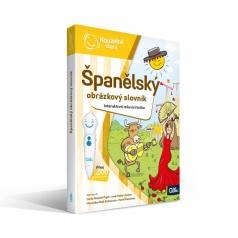 ALBI Kouzelné čtení Kniha Španělský obrázkový slovník