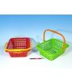 LORI Nákupný košík plast 30x11x27cm asst 4 farby od 12 mesiacov