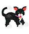 HAMA zažehlovací korálky - MIDI podložka kočka