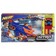 Hasbro C0784 Nerf Nitro Longshot Smash