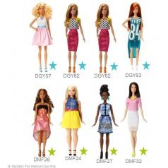 Mattel Barbie MODELKA ASST DGY54