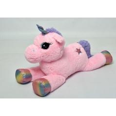 Mac Toys Jednorožec růžoivý, 85 cm