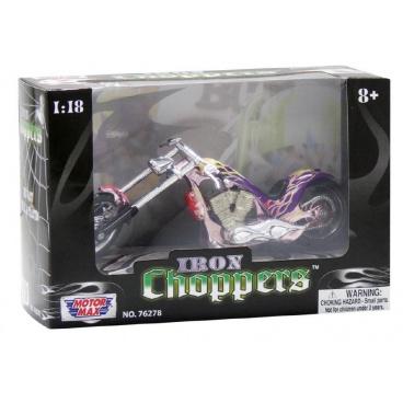 Teddies Motocykl/Motorka kov 15cm asst v krabičce
