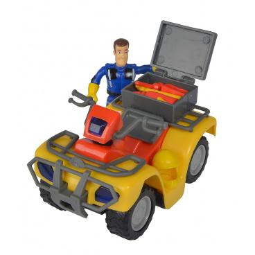 Simba Požárník Sam Mercury čtyřkolka s figurkou