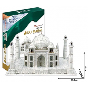 3D puzzle Taj Mahal 87 dílků