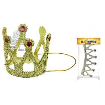 Karnevalová dětská korunka princezna