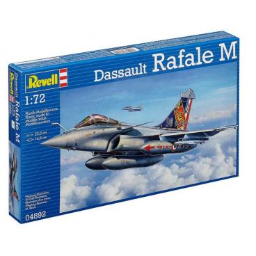 Revell Plastic ModelKit letadlo 04892 - Dassault Rafale M (1:72)