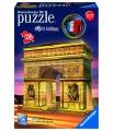 Ravensburger 3D puzzle Vítězný oblouk, svítící (Noční edice), 216 dílků