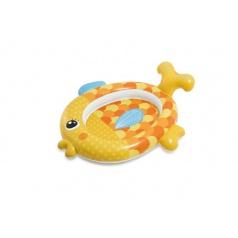 Bazén dětský ryba nafukovací 140x124x34cm