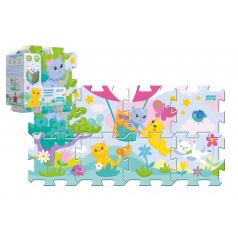 Trefl Penové puzzle 8ks Mačiatka 32x32cm v sáčku 24m +