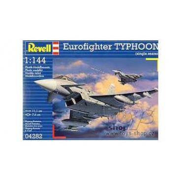 Revell Plastic ModelKit letadlo 04282 - Eurofighter TYPHOON (1:144)