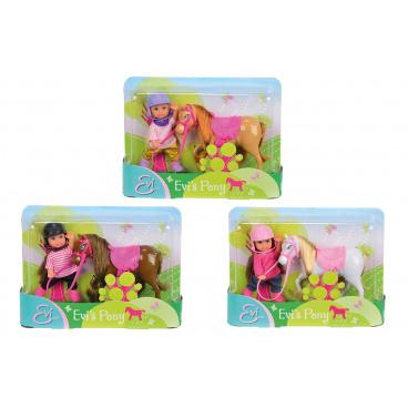 Simba Panenka Evička s poníkem, 3 druhy