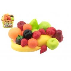 Teddies Nákupný košík ovocie / zelenina plast 18x16x19cm v sieťke