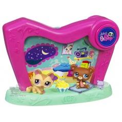 Hasbro Little Pet Shop Světelná vitrínka
