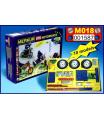 MERKUR - Stavebnice Merkur 018 Motocykly, 182 dílů, 10 modelů