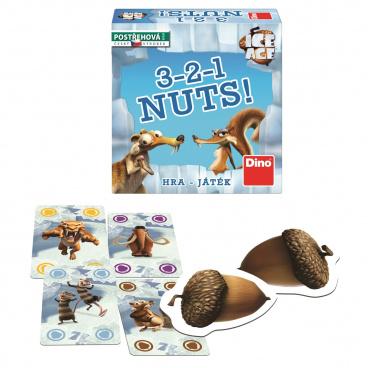 Dino Doba ledová 3-2-1 Nuts! hra