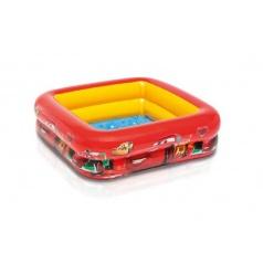 Intex Bazén nafukovací pro malé děti Cars 85x85x23 cm od 1-3 let