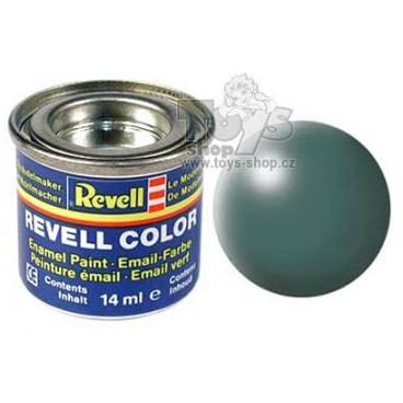 Revell emailová barva 32364 hedvábná listově zelená